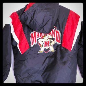 UMD Maryland Terrapins Reebok Heisman Jacket S